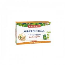 Super Diet Aubier De Tilleul Bio Bien-être Digestif 20 Ampoules