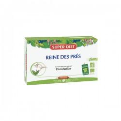 Super Diet Reine Des Prés Bio élimination 20 Ampoules