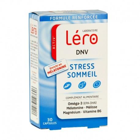 Léro dnv stress sommeil complément alimentaire 30 capsules