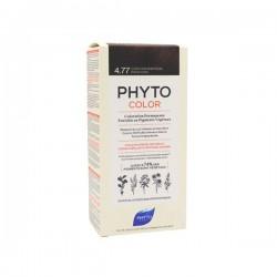 Phyto Color Kit De Coloration Permanente 4.77 Châtain Marron Profond