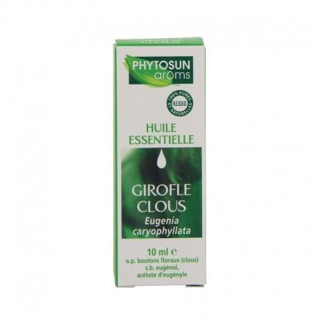 Phytosun arôms huile essentielle girofle clous 10ml
