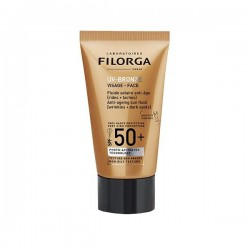 Filorga Uv Bronze Fluide Solaire Visage Anti Age Spf50 40ml