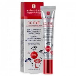 Erborian Cc Eye Soin Illuminateur Teinte Dorée 10ml