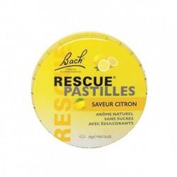 Fleur De Bach Rescue Pastille Saveur Citron 50 G