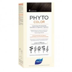 Phyto Phytocolor Couleur Soin 4 Châtain Violine Intense 100ml