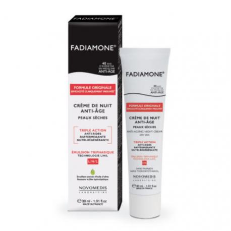Fadiamone Crème de nuit Anti âge peaux sèches 30 g