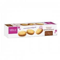 Milical Biscuits Fourrés Saveur Chocolat 12 Biscuits