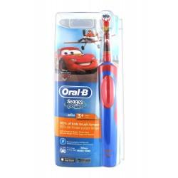 Oral-b Stages Power Brosse à Dents Electrique Cars Enfants 3 Ans Et +