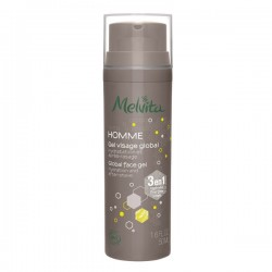 Melvita Homme Gel Visage Global 3 En 1 50ml
