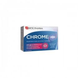 Forté Pharma Chrome 200 Métabolisme Des Sucre Et Des Graisses 30 Comprimés