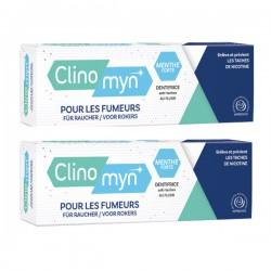 Gilbert Clinomyn Dentifrice Spécial Fumeur Lot 2x75 Ml