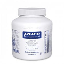 Pure Encapsulations Capsules D'acide Ascorbique Tamponné