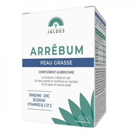 JALDES Arbum peaux grasses 60 comprimés