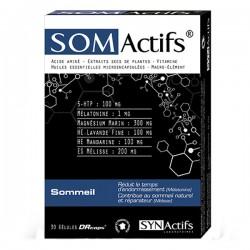 Synactifs Somactifs Sommeil 30 Gelules