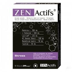 Synactifs Zenactifs Stress 30 Gélules
