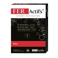 Synactifs Feractifs Fer 60 Gelules