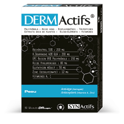 Synactifs Dermactifs Peau 30 Gelules