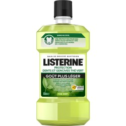 Listerine Protection Dents Et Gencives Thé Vert 500ml