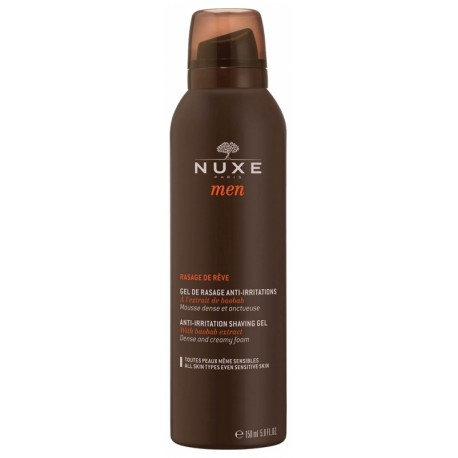 Nuxe men rasage de rêve gel anti-irritations 150ml