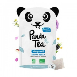 Panda Tea Sleep Well Caramel Et Fruit De La Passion