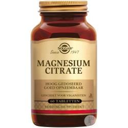 Solgar Magnesium Citrate 60 Comprimés