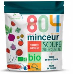 Les 3 Chênes 804 Minceur Soupe Silhouette Tomate & Basilic Bio 180g