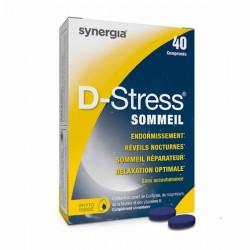 Synergia D-stress Sommeil 40 Comprimés