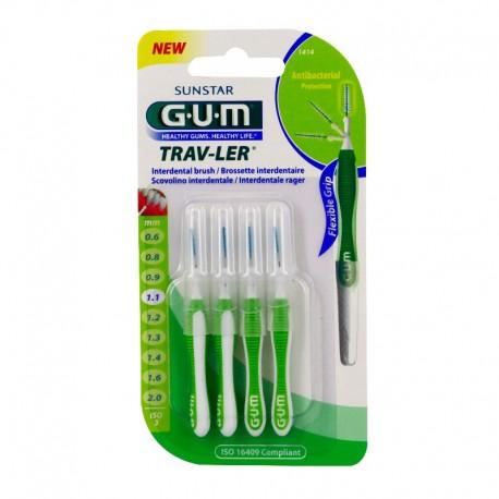 Gum brossettes trav-ler coniques 1.1mm