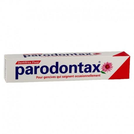Parondontax Dentifrice Fluor saignement gingival 75 ml