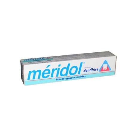 Meridol dentifrice Soin des gencives irritées 75 ml