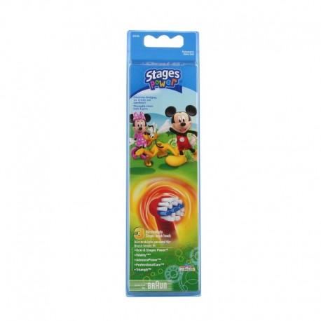 Oral-B Stages power brossettes de rechange enfants 3 brossettes