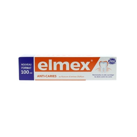 Elmex Anti-caries dentifrice 100ml