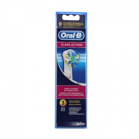 Oral-B brossettes Floss Action - Lot 3