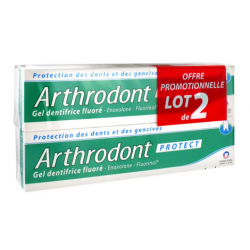 Pierre Fabre Arthrodont Protect Gel Dentifrice 2 X 75ml