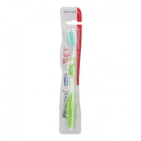 Parogencyl soin gencives brosse à dents souple