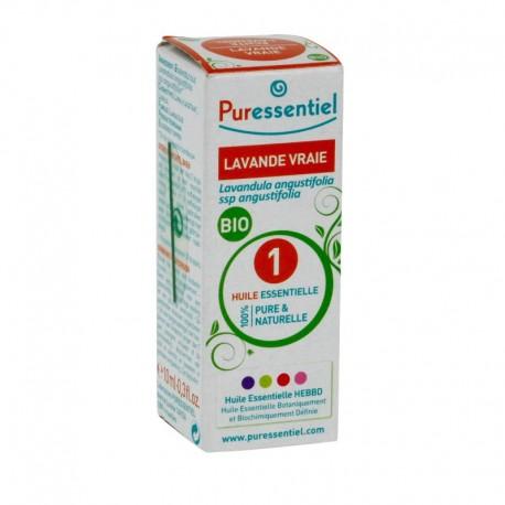 Puressentiel huile essentielle de lavande vraie bio 10 ml
