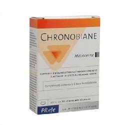 Pileje Chronobiane Mélatonine Complément Alimentaire 30 Comprimés
