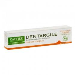Cattier Dentargile Dentifrice Reminéralisant à La Sauge 75 Ml