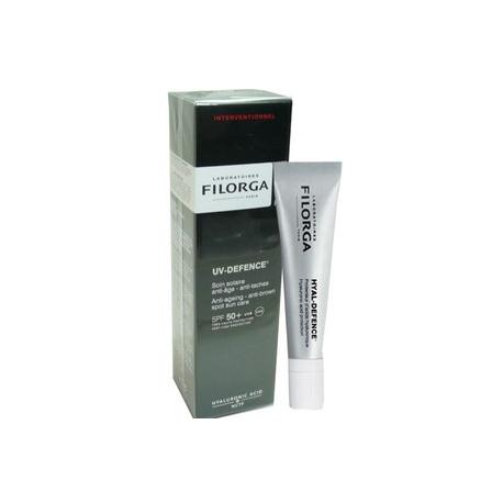 Filorga uv defence soin solaire anti âge et anti tâches spf 50+ 40ml