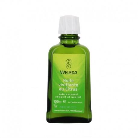 Weleda huile corporelle vivifiante au citrus 100ml