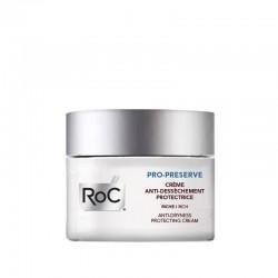 Roc Pro-preserve Crème Anti-dessèchement Protectrice Riche 15 Ml