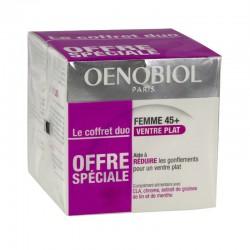Oenobiol Ventre Plat Femme 45 + Complément Alimentaire 2 Boites De 30 Capsules