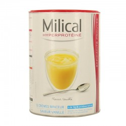 Milical Crème Protéinée Saveur Vanille 12 Crèmes