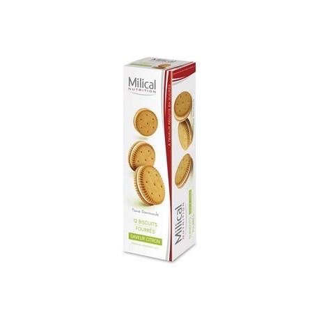 Milical Biscuits Fourrés Citron 12 biscuits