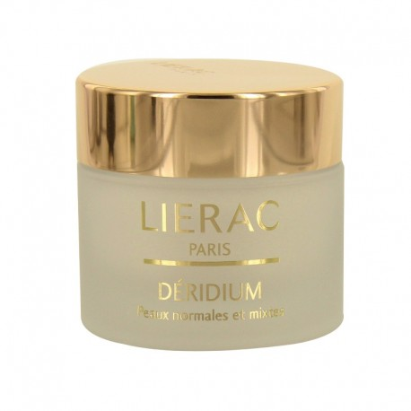 Lierac déridium crème peaux normales et peaux mixtes 50ml