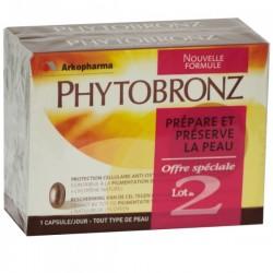 Arkopharma Phytobronz Nouvelle Formule - Lot 2 X 30 Capsules