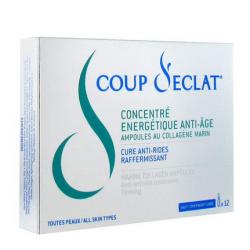 Coup D'eclat Concentré énergétique Anti-age 12 Ampoules