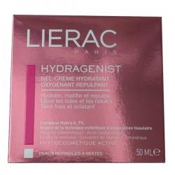 Lierac Hydragenist Gel Crème Hydratant Peaux Normales à Mixtes 50ml