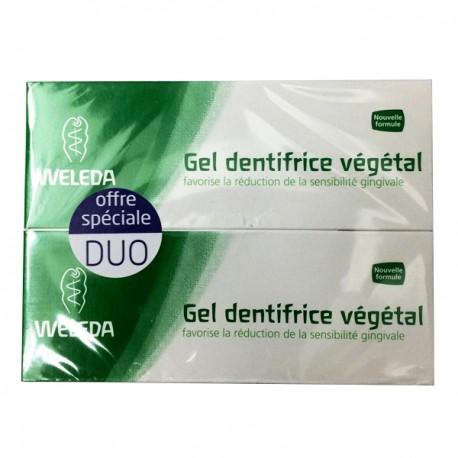 Weleda Gel dentifrice végétal - Lot 2 x 75 ml