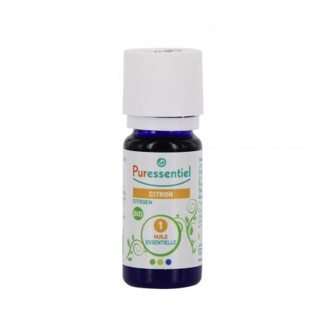 Puressentiel huile essentielle de citron bio 10ml